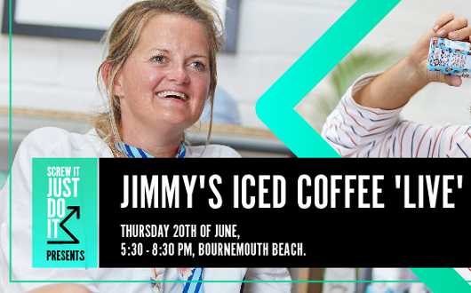 Screw it, Just Do it presents Jimmy's Iced Coffee 'live'