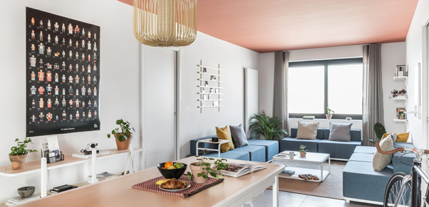 Parisian coliving space captures joie de vivre
