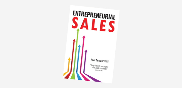 Book 'Entrepreneurial Sales' a sales guide for success