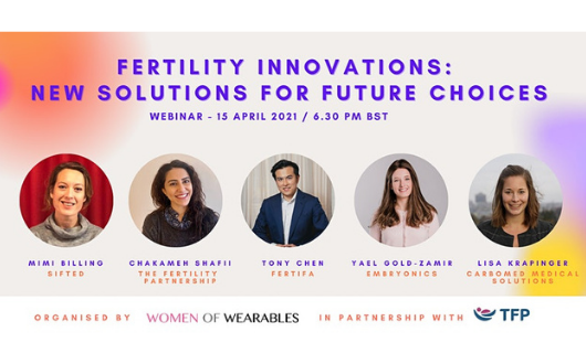 WEBINAR - Fertility Innovations: New Solutions for Future Choices